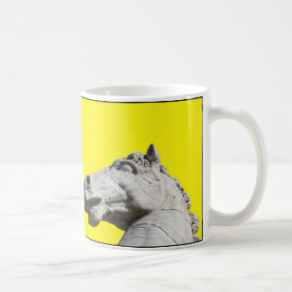 2頭の馬のマグ コーヒーマグカップ