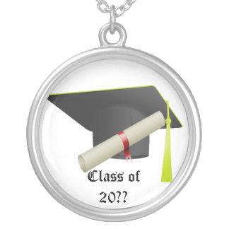20の卒業のクラスか。か。 黒いネックレス シルバープレートネックレス