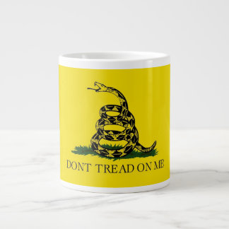 20のoz。 私のガズデンの旗Dontの踏面が付いているコーヒー・マグ ジャンボコーヒーマグカップ