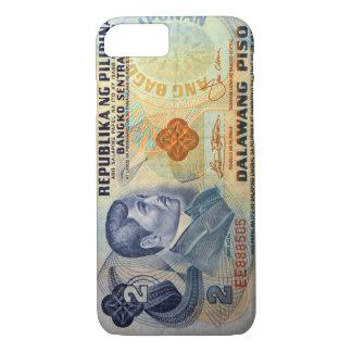 20ペソのフィリピンの古いお金 iPhone 8/7ケース