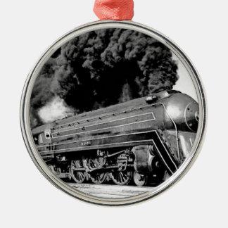 20世紀な限られた列車Highballそれ! ヴィンテージ メタルオーナメント