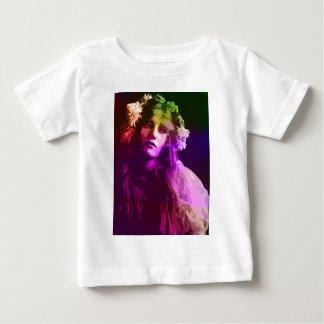 20世紀初頭のフラワーチャイルド ベビーTシャツ