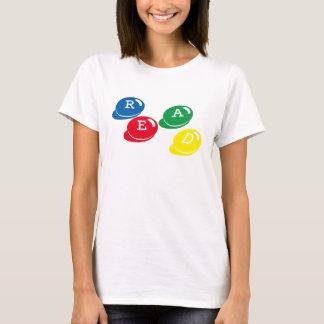 $20以下: 読書の読み書き能力 Tシャツ