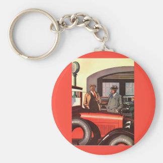 20年代のケリーSpringfieldsのタイヤの広告-もう1つ キーホルダー