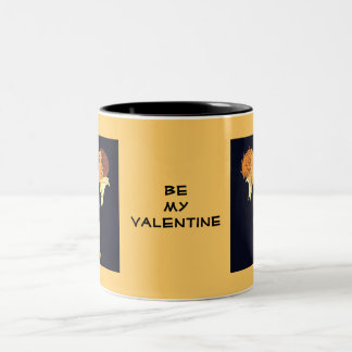 20年代のバレンタインのキス ツートーンマグカップ