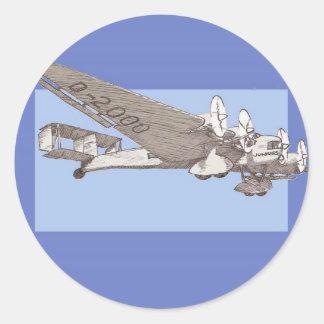 20年代の定期旅客機のぽんこつ自動車G-38 ラウンドシール