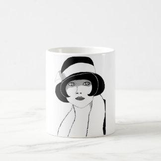 20年代の帽子 コーヒーマグカップ