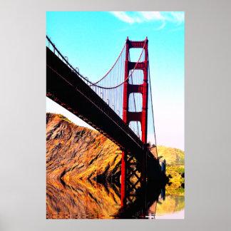 20枚X 24枚の半光沢のゴールデンゲートブリッジポスター ポスター