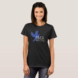 2000年のゼータのファイのベータワイシャツ以来のFiiner Tシャツ