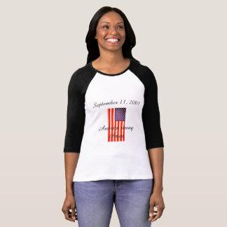 2001の9月11日、女性Tシャツ Tシャツ
