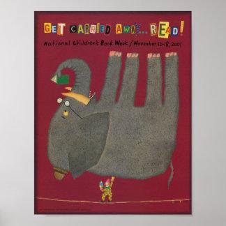 2001人の児童読書週間ポスター ポスター