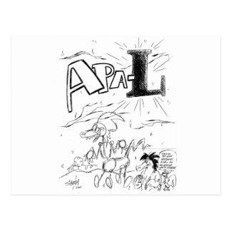 2001年からのMarc Schirmeister APA-Lカバー ポストカード