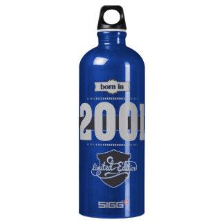 2001年に生まれて下さい(Light&Darkgrey) ウォーターボトル