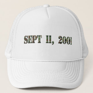 2001年9月11日 キャップ