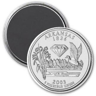 2003年のアーカンソーの州の四分の一の磁石 マグネット