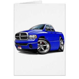 2003-08ラムのクォードの青のトラック カード