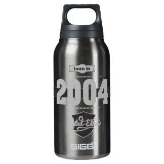 2004年に生まれて下さい(Light&Darkgrey) 断熱ウォーターボトル