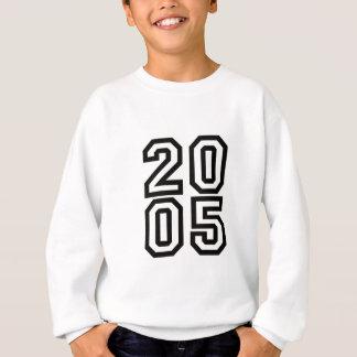 2005年に-誕生年のワイシャツ生まれて下さい スウェットシャツ
