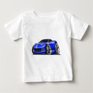 2005-09年のコルベットの青車 ベビーTシャツ