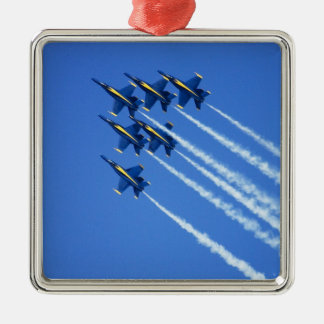 2006の艦隊週2の間のブルーエンジェルの低空飛行 メタルオーナメント