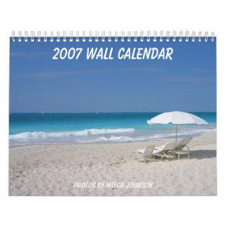 2007壁掛けカレンダー、Mitch J著写真… カレンダー