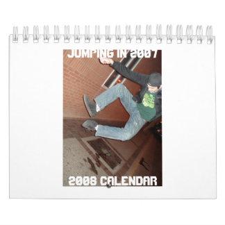 2007年の跳躍の… 2008カレンダー カレンダー