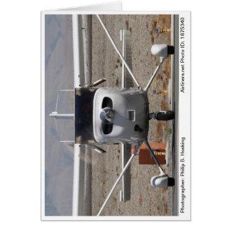 2008年のセスナ172 Skyhawk SPの写真のメッセージカード#1 カード