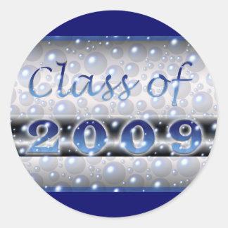 2009の泡のクラス ラウンドシール
