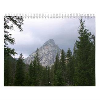 2009壮大なTetonの国立公園のカレンダー カレンダー