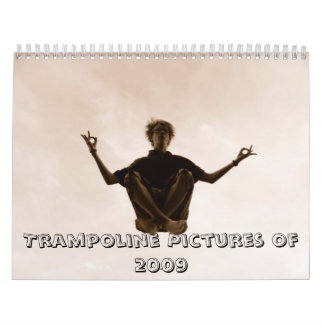 2009年のトランポリンの写真 カレンダー