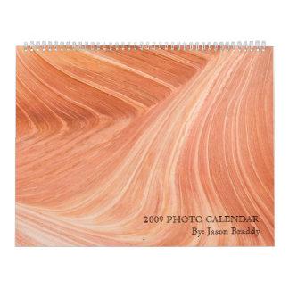 2009年の写真のカレンダー カレンダー