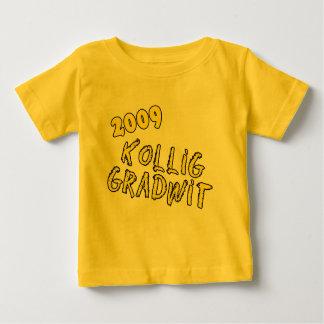 2009年の大学大学院のユーモアプロダクト ベビーTシャツ