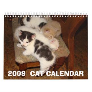 2009年のCATのカレンダー カレンダー