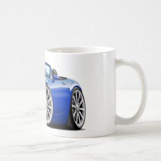 2009-13年のMiataの青車 コーヒーマグカップ