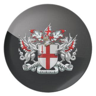 [200]ロンドン-紋章付き外衣市 プレート