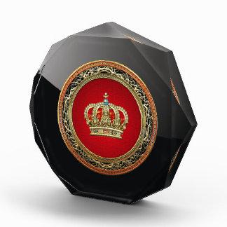 [200]王子プリンセスの王女王の王冠[Belg.Gold] 表彰盾