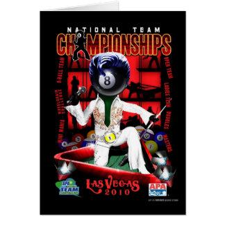2010の全国代表チーム選手権 カード