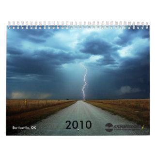 2010カレンダーを追跡する嵐 カレンダー