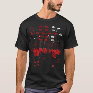 2010人のチャンピオンのホッケー選手 + 棒 Tシャツ