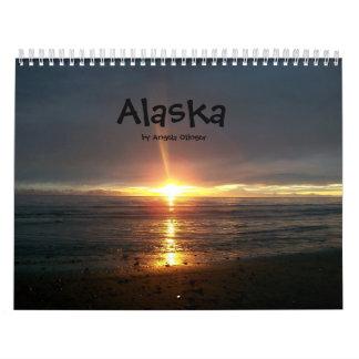 2010年のアラスカのカレンダー カレンダー
