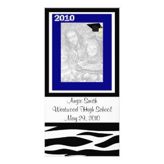 2010年のシマウマの写真カードのクラス カード