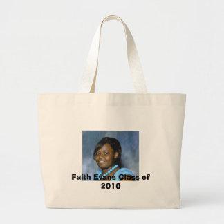 2010年のフェイス・エヴァンスのクラス ラージトートバッグ