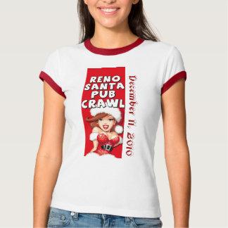 2010年のレノサンタのはしご酒のTシャツ Tシャツ