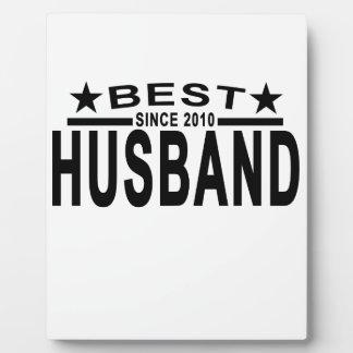 2010年のTシャツ以来の最も最高のな夫「.png フォトプラーク