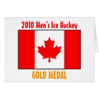 2010年カナダの男性アイスホッケー-金メダルの カード