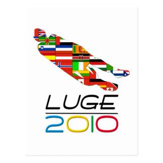 2010年: リュージュ ポストカード
