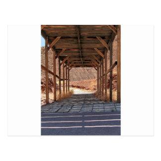 2010-06-28 Cのさらさのゴーストタウン(60) wooden_tunnel.j ポストカード