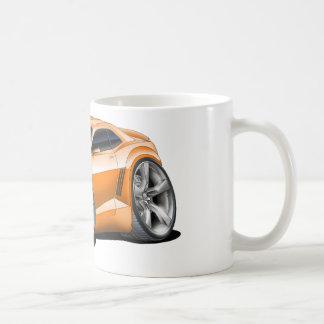 2010-11年のCamaroのオレンジ黒い車 コーヒーマグカップ