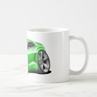 2010-11年のCamaroの緑黒い車 コーヒーマグカップ