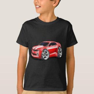 2010-11年のCamaroの赤白の車 Tシャツ